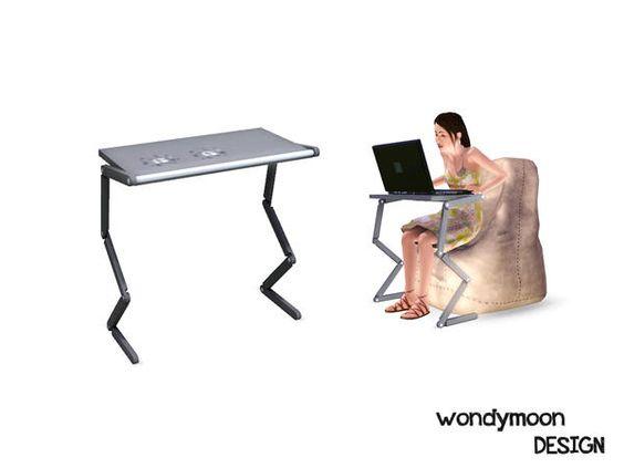 wondymoon : Rhodium Laptop Stand