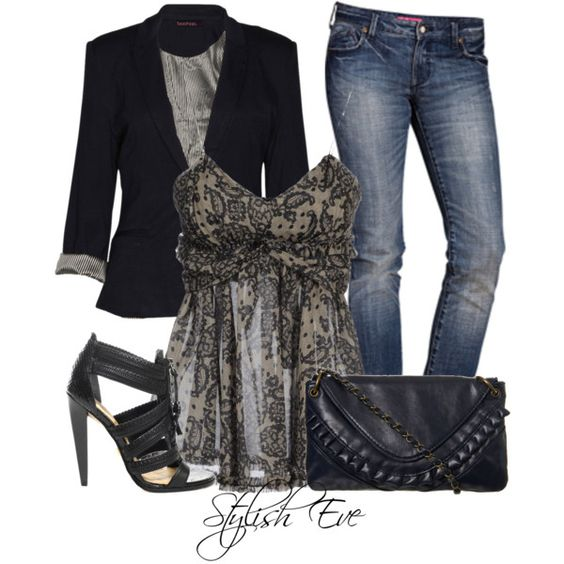 Jeans Outfit (Spring/Summer)