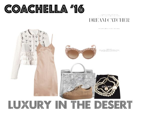 """Coachella lux"" by idk-frida on Polyvore featuring moda, Dolce&Gabbana, Rebecca Taylor, Marques'Almeida y Chanel"