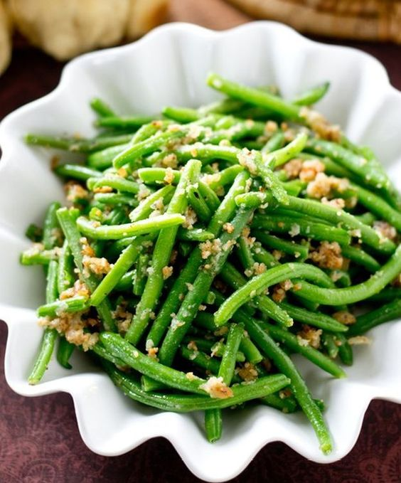 Green Kitchen Recipes: Italian Green Beans, Christmas Side Dishes And Green Beans