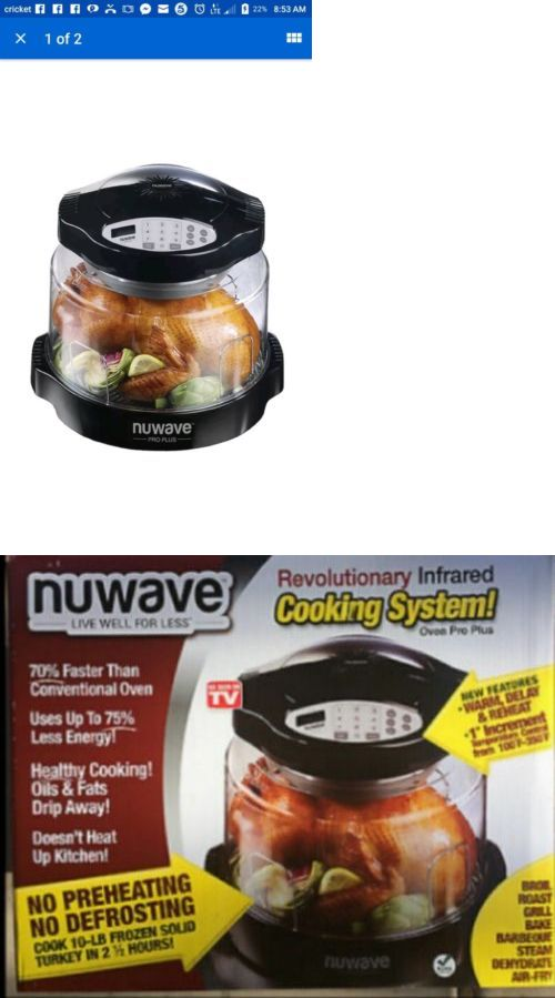 Infrared And Convection Ovens 150139 Nuwave Oven Pro Plus New In