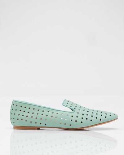 loving loafers right now--especially in crazy colors. By Matiko