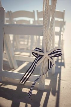 anchor aisle decor wedding ceremony - Google Search