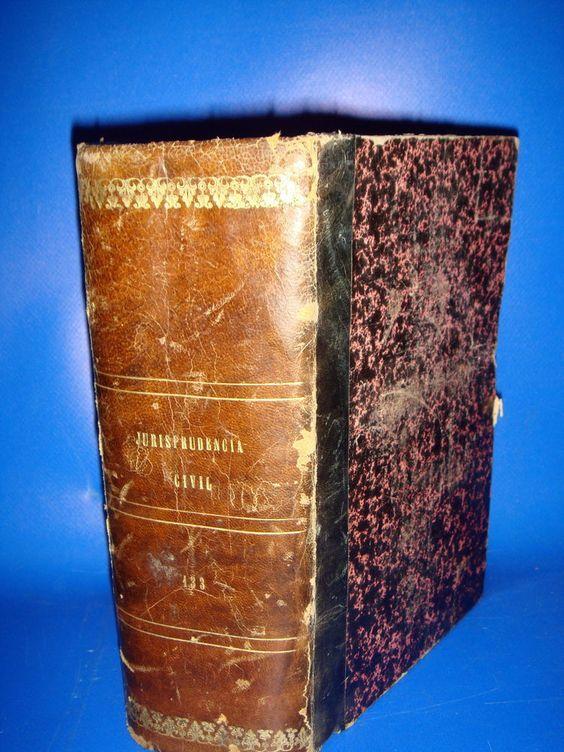 Libro JURISPRUDENCIA CIVIL-133-año 1915 edicion