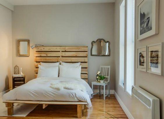 Bett aus paletten sofa aus paletten paletten bett möbel aus paletten spiegel schlafzimmer ideen