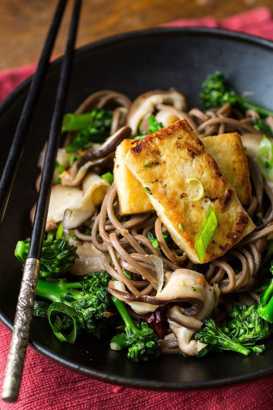 Soba noodles, Noodles and Vegetable stock on Pinterest