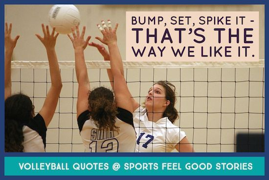 107 Volleyball Quotes To Elevate Your Game Sports Feel Good Stories Volleyball Quotes Feel Good Stories Sports Humor