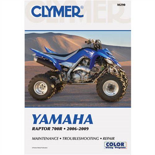 Ebay Sponsored Clymer Repair Manuals M290 Yamaha Raptor 700 2006 2009 Clymer Yamaha Raptor 700 Yamaha