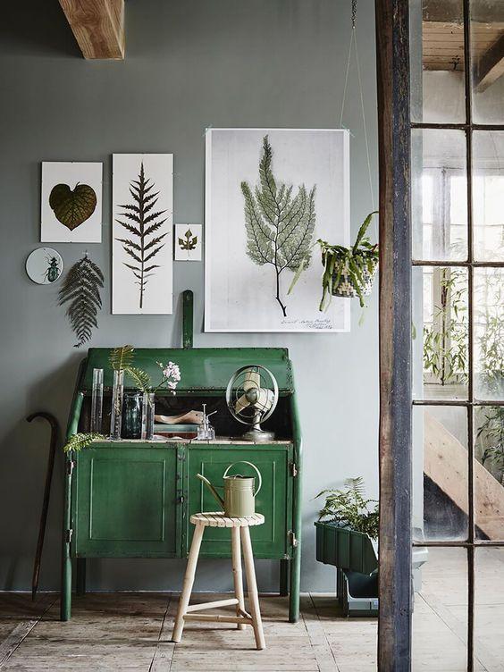 Inspiration : une déco d'intérieur verdoyante - FrenchyFancy: