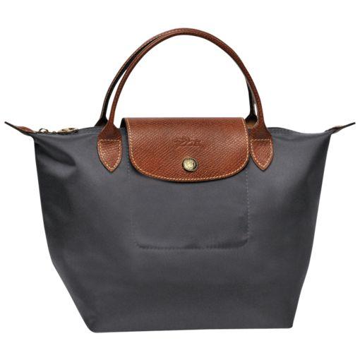 Handbag S - Le Pliage - Bags - Longchamp - Gun Metal - Longchamp Portugal