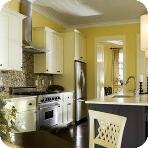yellow walls grey kitchens gray kitchens gray cabinets cabinets white