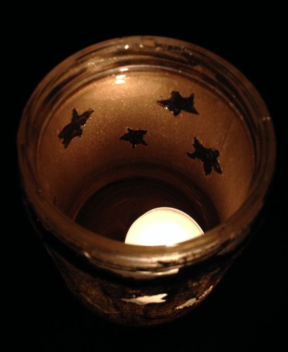 How to Make a Starry Candle Holder