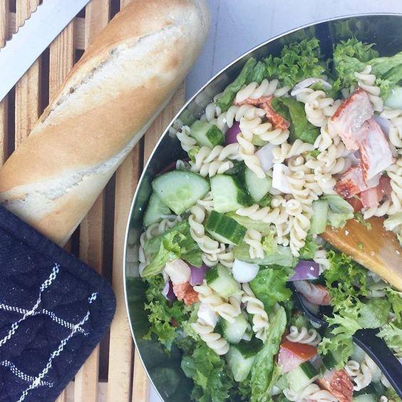 Appel cranberry walnoot salade - Miss Craftsy