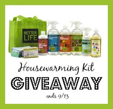 Houewarming Cleaning Kit GIVEAWAY