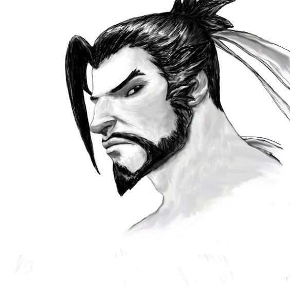 Overwatch - Hanzo by KaeltheArchon