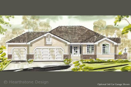 Plans Details :: Plan #R-1582a - Hearthstone Home Design | Houses ...