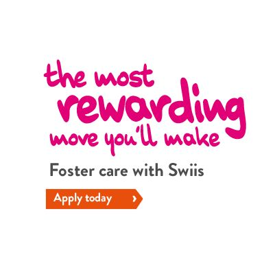 give a child a chance  - find out more http://www.swiisfostercare.co.uk/