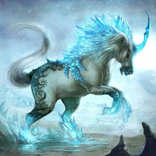 Mythical water horses - photo#19