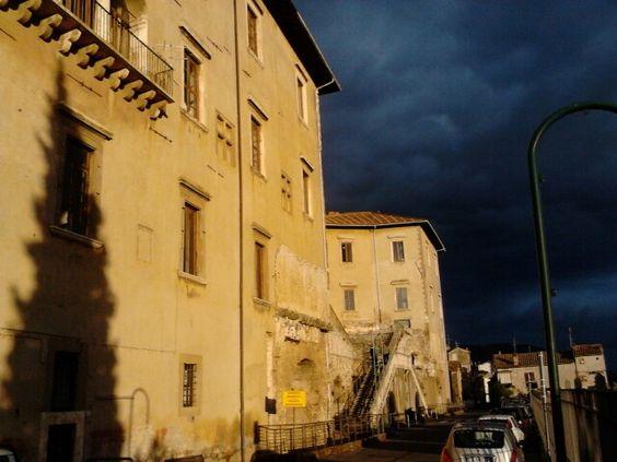 museo archeologico di #palestrina ante tempesta