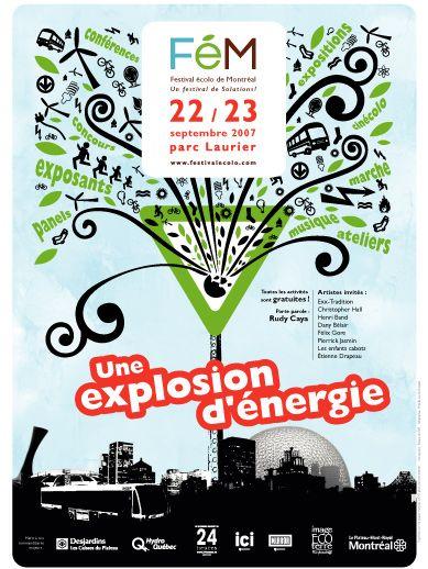 Affiche Festival Écolo de Montréal