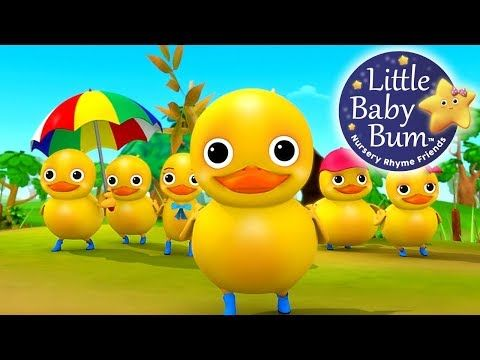 Six Little Ducks From Five Little Ducks Nursery Rhymes By Littlebabybum Youtube Nursery Rhymes Duck Nursery Nursery Rhymes Activities