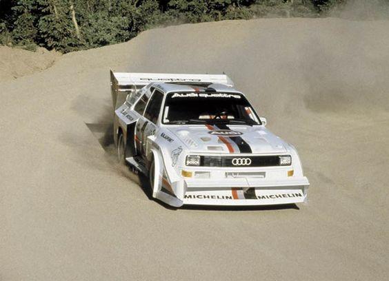 Willkommen beim 1. bayerischen urquattroclub e.V. - quattroclub. - Audi quattro S1 Pikes Peak