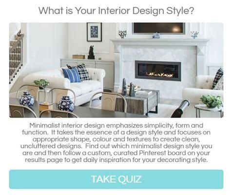 interior design style quiz 2019 2020