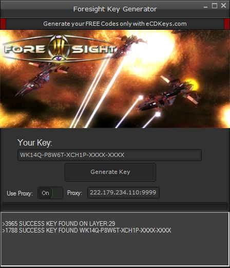 Foresight cd-key