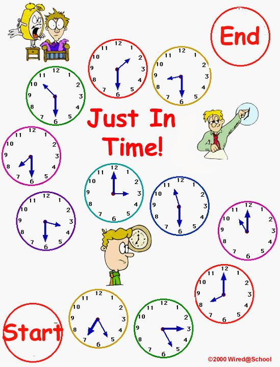 Learning made easy! Teach your kids how to tell time with this fun ...