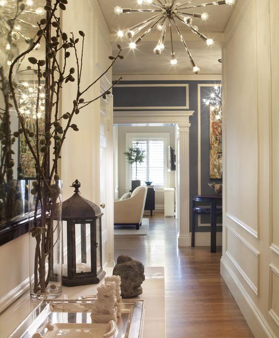 Modern Entryway Designs And Foyer Decorating Creating: Transitional Foyer, Hallway