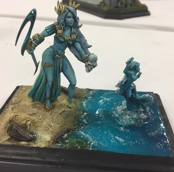 Seaside Summons by Vincent Venturella at #Reapercon 2016 one of my favorite events of the year!