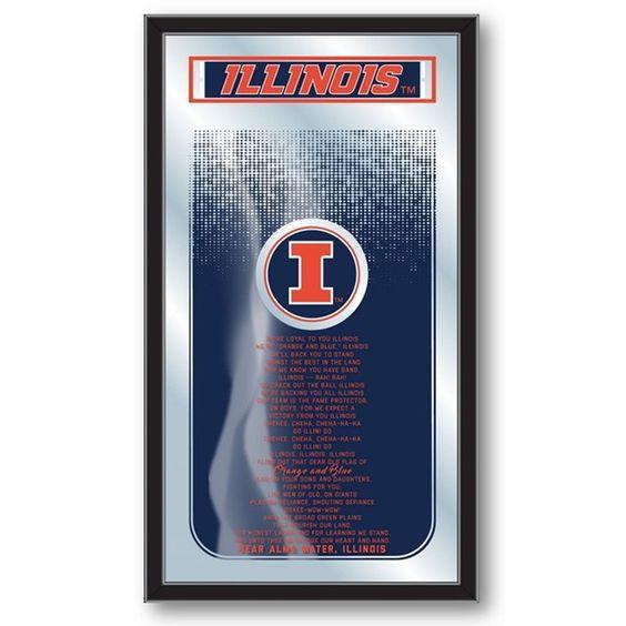 Illinois Fighting Illini Fight Song Mirror at SportsFansPlus.com. Visit website for Bonus Coupon!