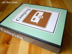 Camping Notebook...good ideas for organizing camping trips in a notebook