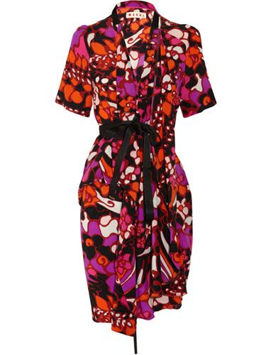Marni Silk Dress	  		  		  		Effortless Chic Clothes - Editor's Picks of Effortless Chic Clothes on Sale  		  		 - Marie Claire