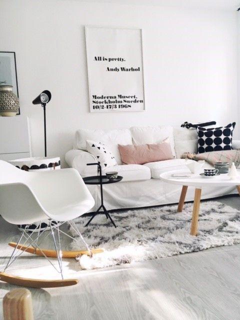 Eames Plastic Armchair RAR von Vitra | Dekor, Weiße couch ...