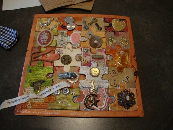 Altered Book Lover: puzzle