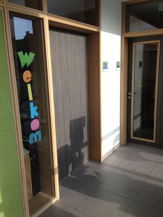 klasdeur, raam, hout, licht