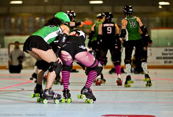 Long Island Roller Rebels & Central New York Roller Derby