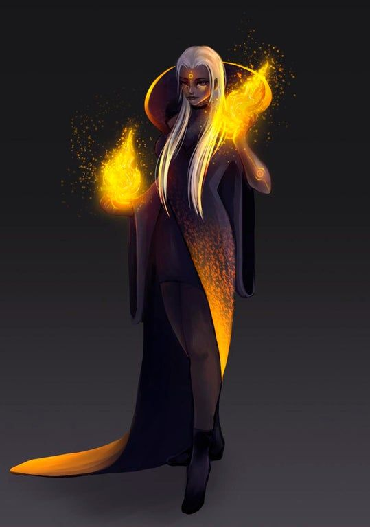 Oc Fire Mage Characterdrawing Mage Character Drawing Pro Bono Work