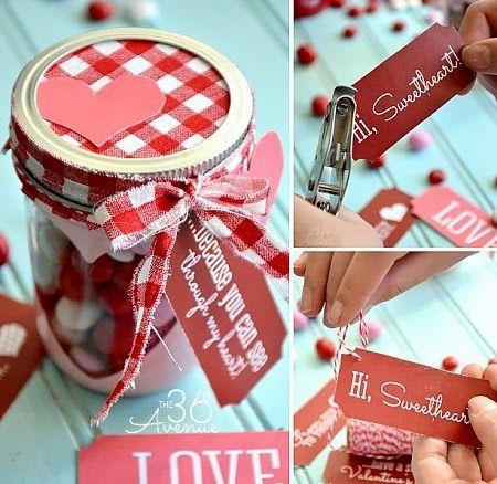 Frasco Romantico para San Valentin, Manualidades Paso a Paso
