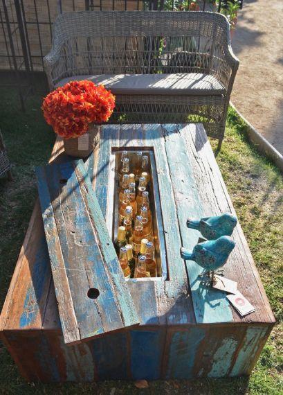 Mesa madera reciclada madera pinterest mesas - Mesa madera reciclada ...