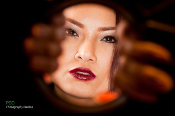 Priya - photovision. Ring light