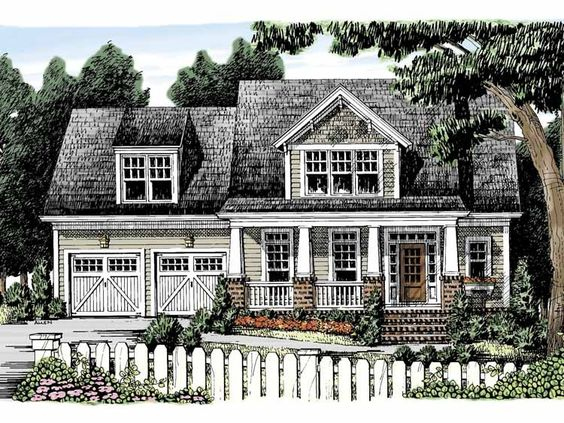Eplans Craftsman House Plan Come Home to this Delightful