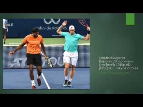 Mektic Skugor Vs Bopanna Shapovalov Tennis 2019 03 Oct Atp Tokyo Dou Tennis Live Tennis Tennis Match