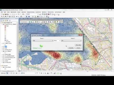 An overview of the Crime Analyst extension for ArcGIS for Desktop