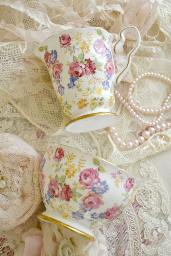 Lovely Vintage Royal Stafford Bone China Cream by Jenneliserose