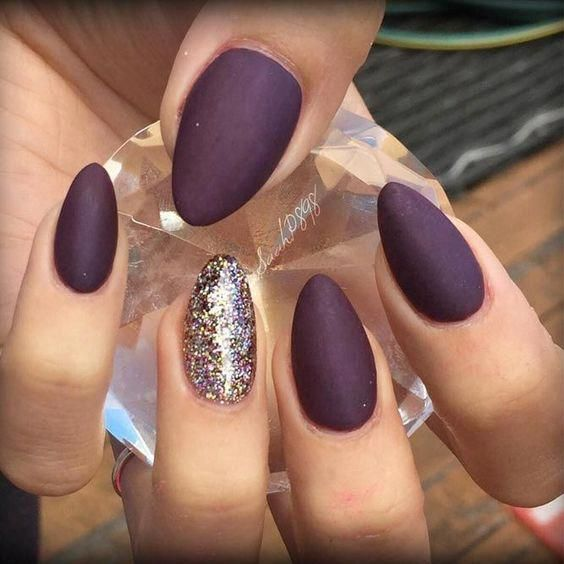 70 Stunning Designs For Almond Nails You Won T Resist Almond Nails Long Or Short Almond Nails D Matte Almond Nails Almond Acrylic Nails Almond Nails Designs