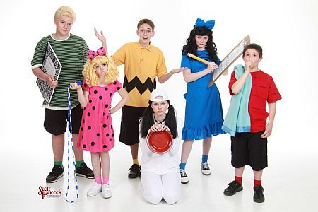 Charlie brown and more kids playing charlie brown the characters