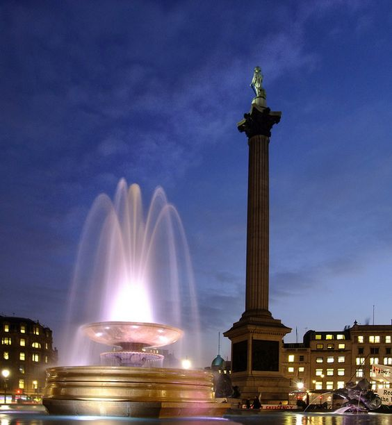 Trafalgar Square by Beardy Vulcan, via Flickr