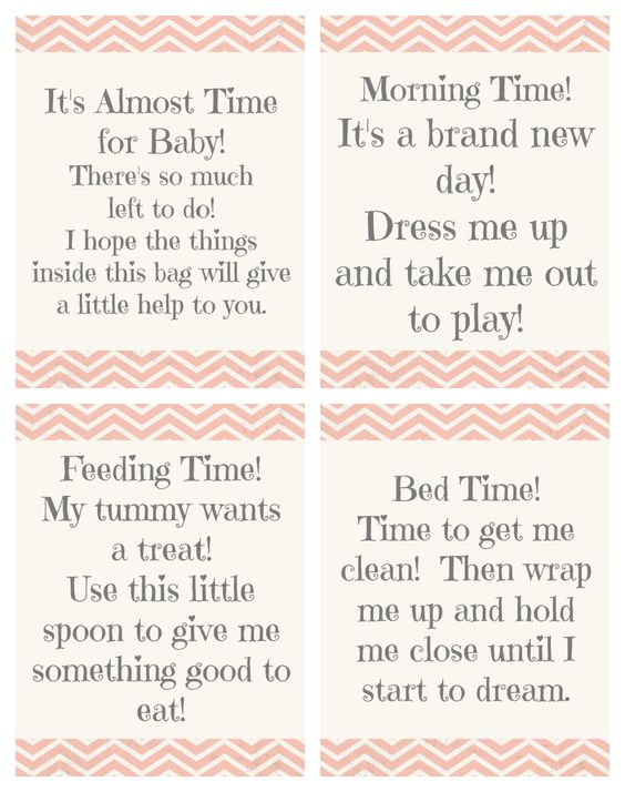 Baby Gift Wording : Shower gifts babies and tags on